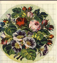 "Gallery.ru / Фото #6 - буклет""Blumenmuster auf Stramin"" - allaN"