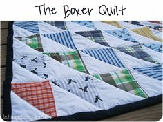 My 1st Quilt! With Tutorial:) - Peek-a-Boo Pages - Sew Something Special