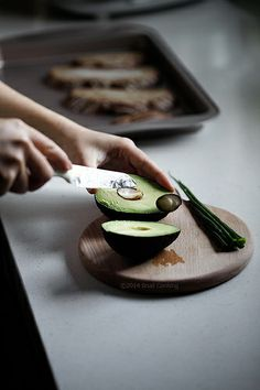 About 67% of an avocado's energy comes from monounsaturated fat, which has a good influence for your cholesterol. Enjoy!