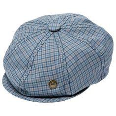 3067ed58 Goorin Fillipo Tweed Newsboy Cap - Blue ($23) ❤ liked on Polyvore featuring  accessories, hats, blue, summer hats, newsboy hat, newsboy cap, blue newsboy  ...