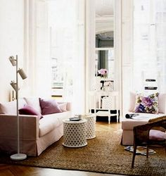 The Decorista-Domestic Bliss: The Art of Living: how to decorate with mirrors