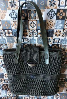 Kabelka podzimni kabelka doplněk taška háčkovaná módní pouzdro