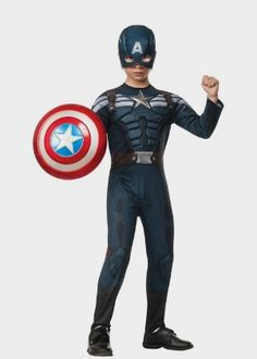 Rubies Captain America: The Winter Soldier Deluxe Stealth Suit Costume Amazon http://amzn.to/2dG9flr