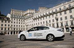 Em Lisboa apanhe um Táxi Eléctrico