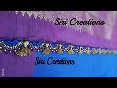saree kuchu Trending Design/ how to make bridal Saree Kuchu design Saree Kuchu New Designs, Saree Tassels Designs, Chrochet, Crochet Lace, Mirror Work Blouse, Design Trends, Crafty, Make It Yourself, Stitch
