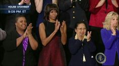 Ist Lady Michelle Obama @ SOTU Address....