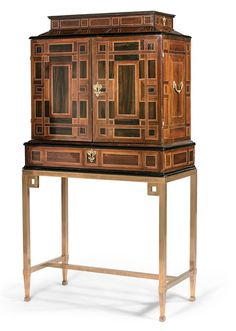 17th Century, Decoration, China Cabinet, Bookcase, Sculptures, Objects, Shelves, Antiques, Storage