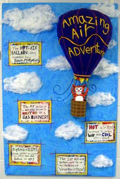 Cute Hot Air balloon theme... Oh the places you'll go!