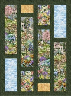 Flower Market-Oh-Henry Panel Quilts, Quilt Blocks, Bold Prints, Large Prints, Diy Arts And Crafts, Decor Crafts, Japanese Quilts, Flower Quilts, Flower Market