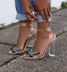 high heels – High Heels Daily Heels, stilettos and women's Shoes Bridesmaid Shoes, Prom Shoes, Shoes Heels, Shoes Sneakers, Ankle Shoes, Wedge Heels, Butterfly Shoes, Monarch Butterfly, Butterfly Fashion