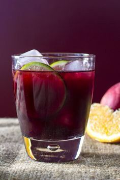 Sangria recipe 3/4 cup simple syrup (equal parts sugar and water) 1 Liberty Creek sweet red 1.5 l 3/4 cup brandy 1/2 cup triple sec (optional, if not add oj) 3/4 cup orange juice Lemon juice to taste