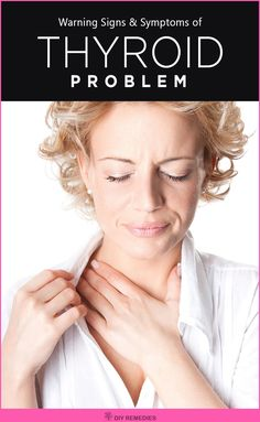 Signs and Symptoms of a Thyroid Problem
