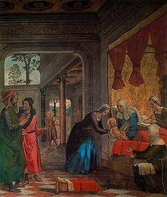 Juan de Borgoña - nacimiento de maria 1509 - 11