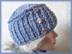 Modèle toque à torsades 97 24 Bonnet femme gratuit à tricoter Mad laine