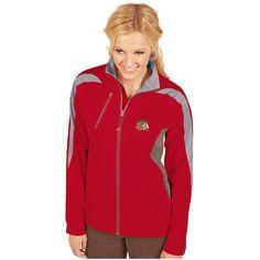 Chicago Blackhawks Antigua Women's Discover Full-Zip Jacket - Red - $89.99