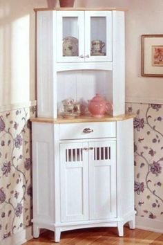 Corner Kitchen Hutch   Corner Kitchen Hutch Completes Your Kitchen Space Perfectly Corner ...