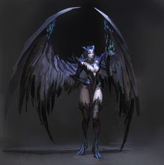 ice harpy by openanewworld