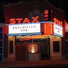 Stax Records, Memphis Tennessee