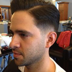 hairstyle   Haircuts for Men   Low Fade with Pencil Sideburn low fade ...