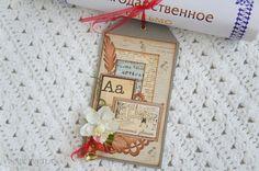 Тег для подарочного сертификата - Скрапбукинг (бумажный) - Babyblog.ru