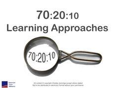 The 70:20:10 Framework by Charles Jennings via slideshare