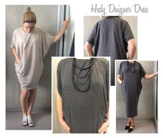 Hedy Designer Dress Sewing Pattern By Style Arc