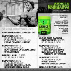 Mp Workout Of The Day Arnold Schwarzenegger Blueprint To Cut Leg