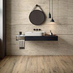 FLAVIKER Navona Brick Look Tile, Concrete Look Tile, Marble Look Tile, Stone Look Tile, Travertine Tile, Decorative Wall Tiles, Vitrified Tiles, Stone Gallery, Tile Showroom
