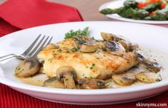 Slow Cooker Chicken and Mushroom Gravy is so easy to prepare !