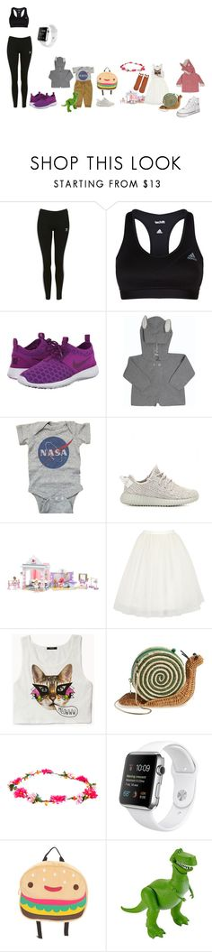 """🏋🏻 ♀️🤸🏼 ♂️🤾🏼 ♀️"" by lena1612 ❤ liked on Polyvore featuring Topshop, adidas, NIKE, adidas Originals, Mega Bloks, John Lewis, Alice + Olivia, Forever 21, Kate Spade and Loungefly"