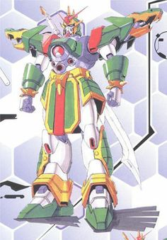 Mobile Fighter of Neo China during the 7th Gundam Fight. Formerly piloted by the old Shuffle Alliance Club Ace.