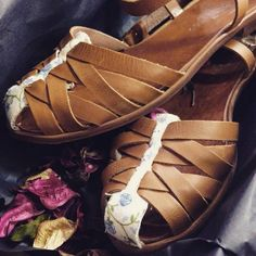 """""""If I had a flower for every time you made me smile and laugh I'd have a garden to walk in forever"""" The Workshop Shoes - Carlotta Grisi sandals Ballet Shoes, Dance Shoes, Smiles And Laughs, Workshop, Sandals, Flower, Spring, Garden, Summer"""