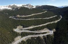 Berthoud Pass in Colorado, elevation of 11,307 ft. (3446 m.) above the sea level, is a high mountain pass in the Rocky Mountains of central Colorado in the United States.