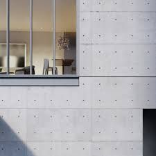 Designed by Pritzker Prize–winning Japanese architect Tadao Ando, 152 Elizabeth Street offers seven one-of-a-kind residences in Manhattan's Nolita neighborhood. Concrete Facade, Concrete Architecture, Architecture Panel, Architecture Wallpaper, Exposed Concrete, Architecture Portfolio, Architecture Details, China Architecture, Drawing Architecture