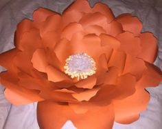The Lucy Medium Paper Flower Premium by PaperNRibbonArtistry