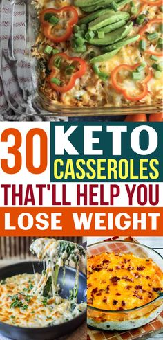 Diet Recipes Easy keto casseroles for your ketogenic diet! These keto casserole recipes are the perfect low carb fall meal. Prep these keto caseroles ahead of time and pop in the oven for the BEST ketogenic dinner! Diet Dinner Recipes, Keto Dinner, Diet Recipes, Lunch Recipes, Diet Menu, Low Carb Dinner Ideas, Recipies, Healthy Recipes, Avocado Recipes