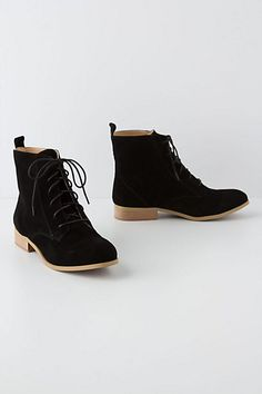 <3 i actually like these in black! Field Booties - Anthropologie.com