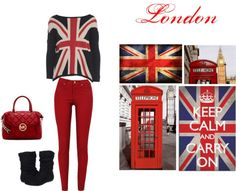 """London"" by martamagalhaes on Polyvore"