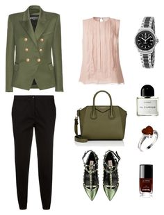 Happy Friday! by kudryashka90 on Polyvore featuring polyvore, fashion, style, Jason Wu, Balmain, Etro, Valentino, Givenchy, TAG Heuer, Byredo, Chanel and clothing