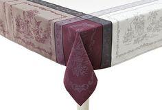 Romance Aubergine Tablecloth