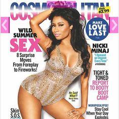 Nicki Minaj graces Cosmopolitan Magazine. Rare for our women. #blackgirlsrock