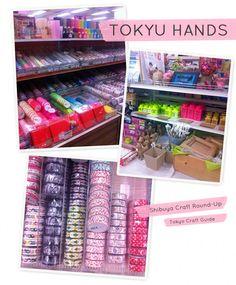 Tokyu Hands, Shibuya Craft Round-Up by tokyocraftguide.com
