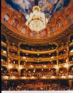 Fortunio was produced at La Monnaie in Brussels in 1908 and and had its UK premiere in 2001 at Grange Park Opera. Beautiful Architecture, Architecture Design, Monuments, Theater, Ballet Music, Andrea Palladio, Living In Europe, Music Sing, Phantom Of The Opera