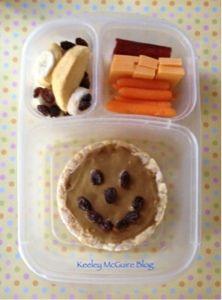 TGIF!! Smiling Lunchbox #EasyLunchBoxes #SunButter