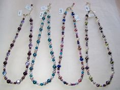 Checkout this amazing deal Long freshwater pearl and sterling silver necklace,$90