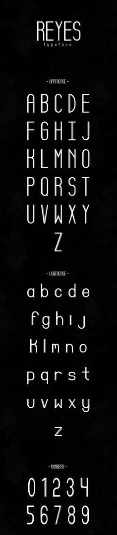 Reyes Free Typeface