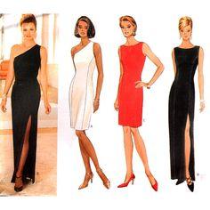 Butterick Sewing Pattern 4300 Misses'/Misses Petite Dress Size: 14-16-18 Uncut