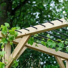 The pergola kits are the easiest and quickest way to build a garden pergola. There are lots of do it yourself pergola kits available to you so that anyone could easily put them together to construct a new structure at their backyard. Pergola Canopy, Pergola With Roof, Cheap Pergola, Wooden Pergola, Outdoor Pergola, Backyard Pergola, Pergola Shade, Pergola Plans, Outdoor Decor