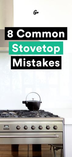 Don't get burned again. #greatist http://greatist.com/eat/common-stovetop-cooking-mistakes