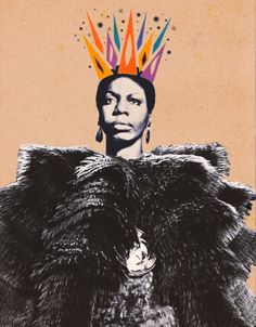 Nina Simone collage